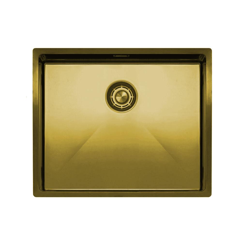 真鍮/金 台所の洗面器 - Nivito CU-500-BB