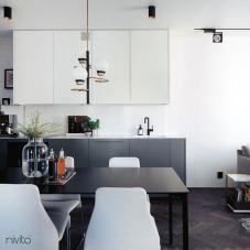黒 キッチン蛇口 - Nivito 11-RH-320