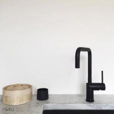 黒 キッチン蛇口 - Nivito 15-RH-320