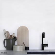 黒 キッチン蛇口 - Nivito 18-RH-320