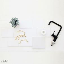 黒 キッチン蛇口 - Nivito 19-RH-320