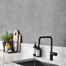黒 キッチン蛇口 - Nivito 2-RH-320