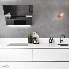 黒 キッチン蛇口 - Nivito 3-RH-320