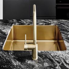 真鍮/金 キッチンシンク - Nivito 1-CU-500-BB
