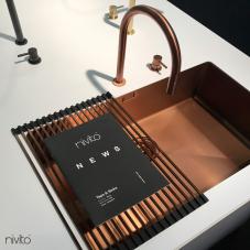 銅 キッチンシンク - Nivito 1-CU-700-BC