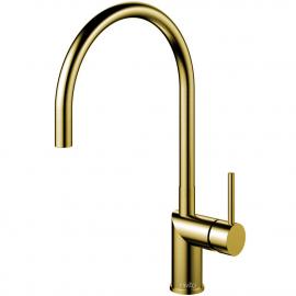 真鍮/金 キッチン蛇口 - Nivito RH-140