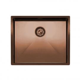 銅 台所の洗面器 - Nivito CU-500-BC