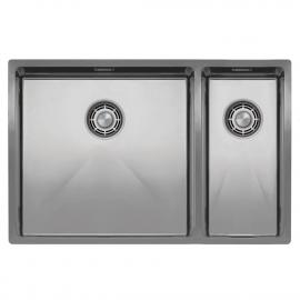 ステンレススチール製 台所の洗面器 - Nivito CU-500-180-B