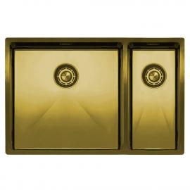 真鍮/金 台所の洗面器 - Nivito CU-500-180-BB
