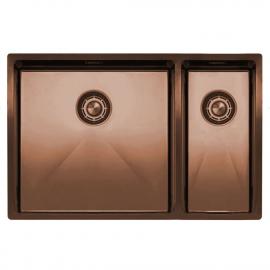 銅 台所の洗面器 - Nivito CU-500-180-BC