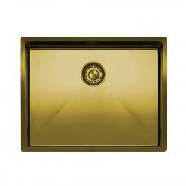 真鍮/金 台所の洗面器 - Nivito CU-550-BB