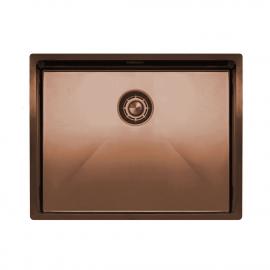 銅 台所の洗面器 - Nivito CU-550-BC