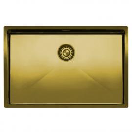 真鍮/金 台所の洗面器 - Nivito CU-700-BB