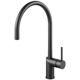 黒 キッチン蛇口 - Nivito RH-120