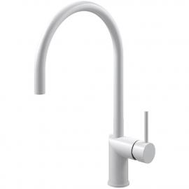 白 キッチン蛇口 - Nivito RH-130