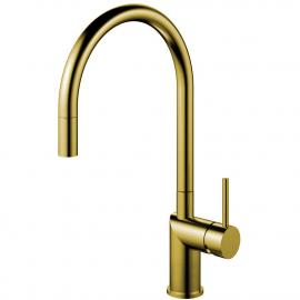 真鍮/金 キッチンタップ プルアウトホース - Nivito RH-140-EX
