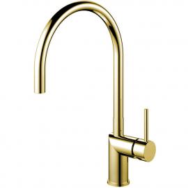 真鍮/金 キッチン蛇口 - Nivito RH-160