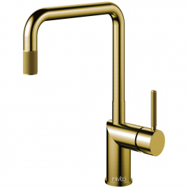 真鍮/金 キッチン蛇口 - Nivito RH-340-IN