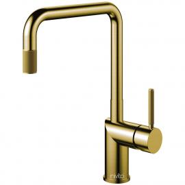真鍮/金 キッチン蛇口 プルアウトホース - Nivito RH-340-EX-IN