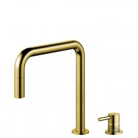 真鍮/金 キッチンタップ プルアウトホース / 分離ボディ/パイプ - Nivito RH-340-VI