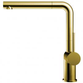 真鍮/金 キッチンタップ プルアウトホース - Nivito RH-640-EX